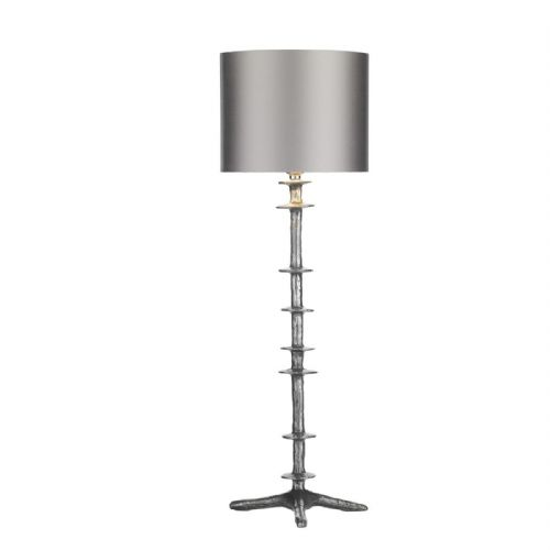 Icarus Table Lamp Pewter Base Only ICA4267 (7-10 day Delivery)